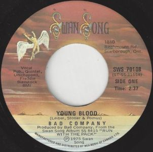 Young Blood by Bad Company