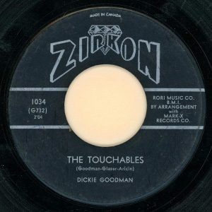 The Touchables by Dickie Goodman