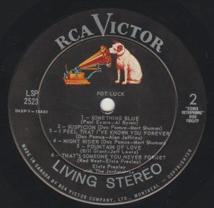 Suspicion by Elvis Presley