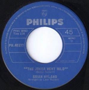 The Joker Went Wild by Brian Hyland