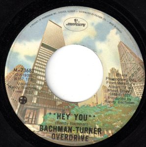 Hey You by Bachman-Turner Overdrive