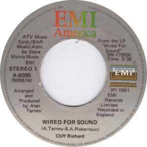 Wired For Sound by Cliff Richard
