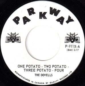 One Potato - Two Potato - Three Potato - Four by The Dovells