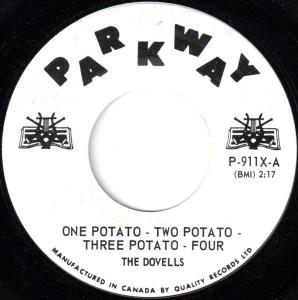 One Potato - Two Potato - Three Potato - Four by The Dovells