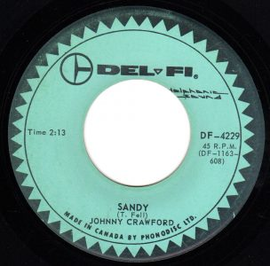 Sandy by Johnny Crawford