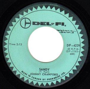 Sandy by Johnny Crawford