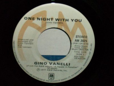 One Night With You by Gino Vanelli
