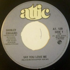 Say You Love Me by Shirley Eikhard