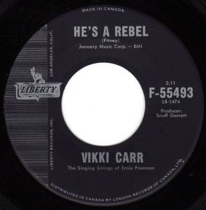He's A Rebel by Vikki Carr