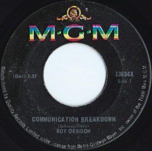 Communication Breakdown by Roy Orbison