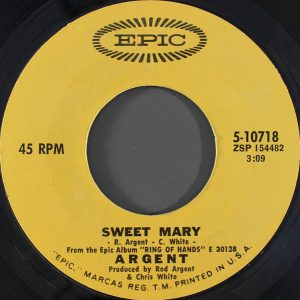 Sweet Mary by Argent