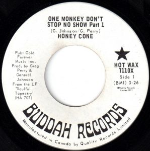 One Monkey Don't Stop No Show by Honey Cone