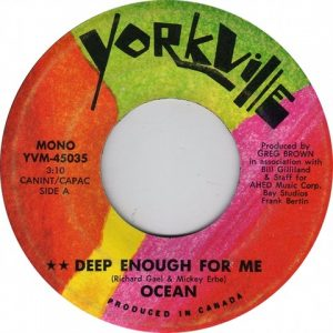 Deep Enough For Me by Ocean