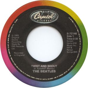 Twist And Shout by The Beatles