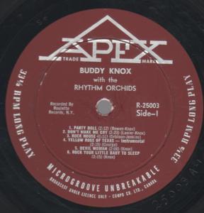 Rock House by Buddy Knox & the Rhythm Orchids
