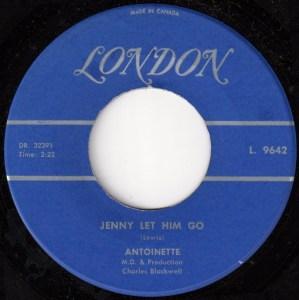 Jenny Let Him Go by Antoinette