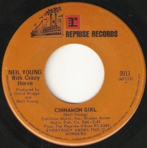 Cinnamon Girl by Neil Young