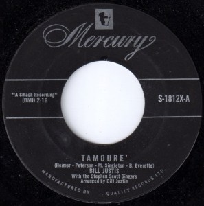 Tamoure by Bill Justis