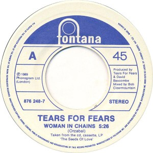 Woman In Chains by Tears for Fears