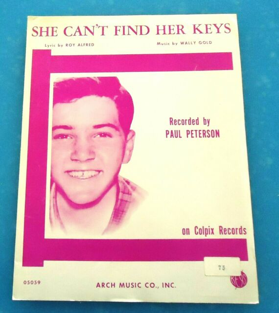 She Can't Find Her Keys by Paul Petersen