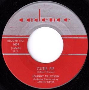 Cutie Pie by Johnny Tillotson