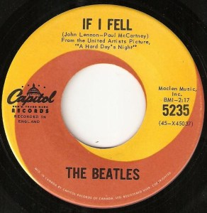 If I Fell by the Beatles