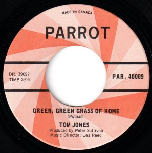 Green Green Grass Of Home by Tom Jones