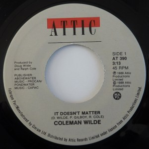 It Doesn't Matter by Coleman Wilde