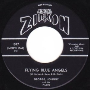 Flying Blue Angels by George, Johnny and the Pilots