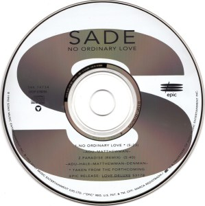 No Ordinary Love by Sade