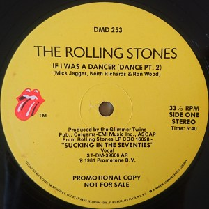 If I Was A Dancer by the Rolling Stones