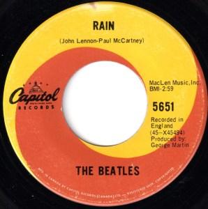 Rain by the Beatles