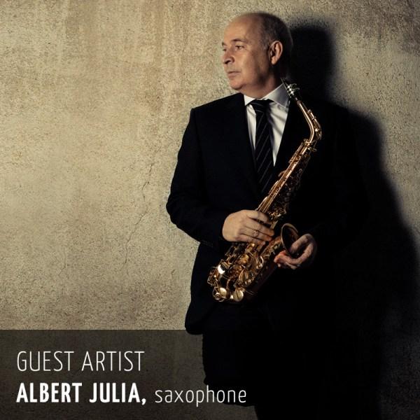 Albert Julia, guest artist