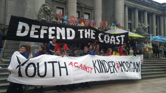 Kinder Morgan We Still Say No - Rally Sept 2017
