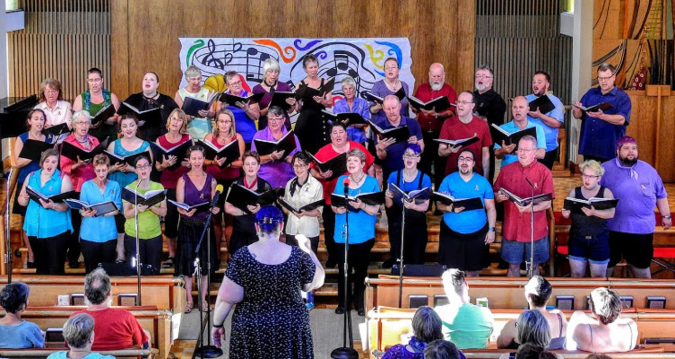 Potluck and Out in Harmony Choir Concert - June 29
