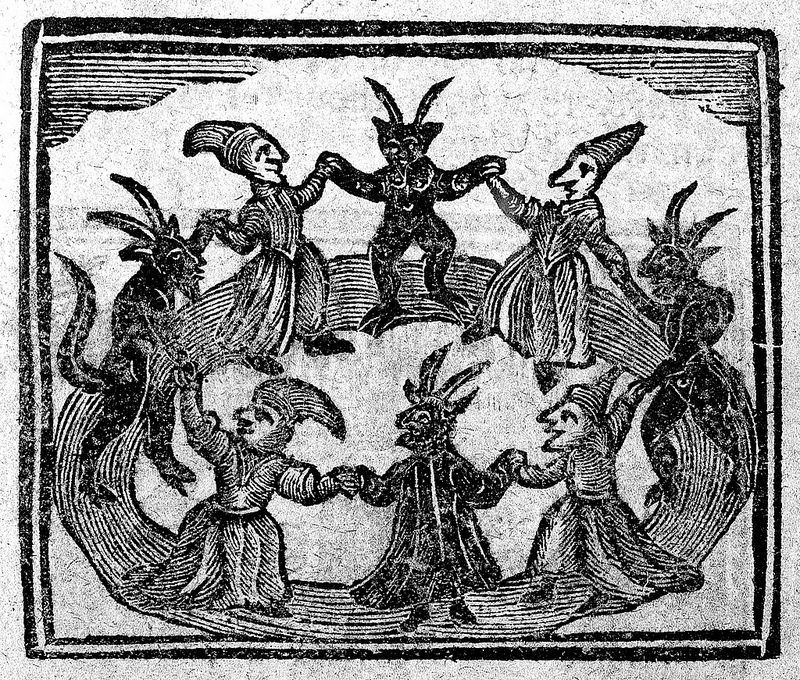 Circle dance - the easy way - dance for the vampires and the witches