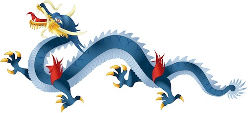 Asian Heritage Month: image of Vietnamese blue dragon