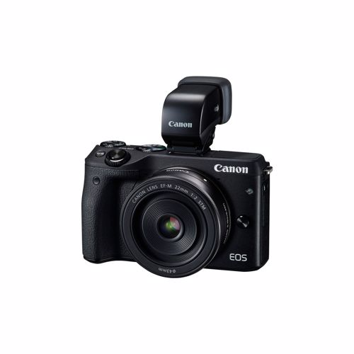 Canon systeemcamera EOS M3 18-55 IS + Viewfinder