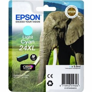 Epson cartridge 24XL Claria Photo HD Ink (Licht cyaan)