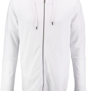 Jack & Jones Core lang wit sweatvest VALT RUIM