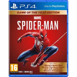 Marvel's Spider-man: Game Of The Year Editie PS4