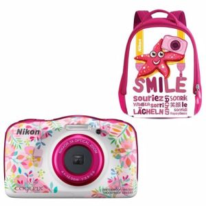 Nikon compact camera COOLPIX W150 FLOWER Rugzak kit