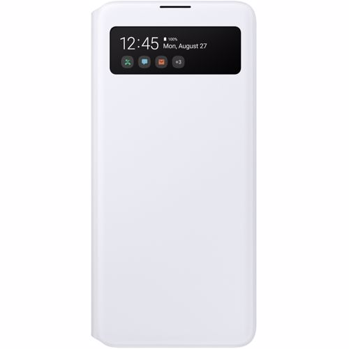 Samsung telefoonhoesje Galaxy A51 S View Wallet Cover (Wit)