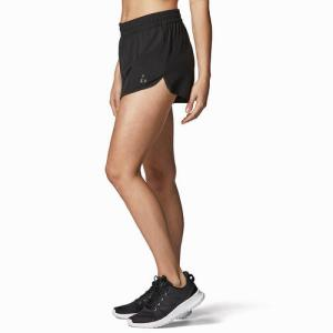 Women's Woven Short Black