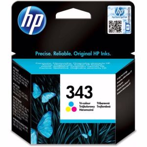 HP cartridge HP343INK 3 Pack (Cyaan