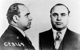 Mugshot van Al Capone