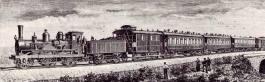 Eerste Oriënt Express in 1883 (Publiek Domein - wiki)