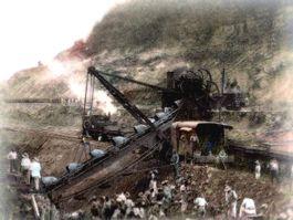 Aanleg van het Panamakanaal