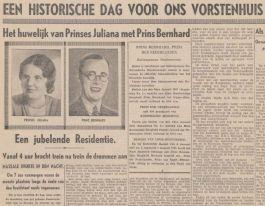 Nieuwe Tilburgsche Courant, januari 1937 (KB)