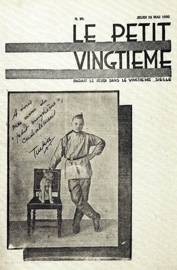 Omslag van Le Petit Vingtième van 15 mei 1930